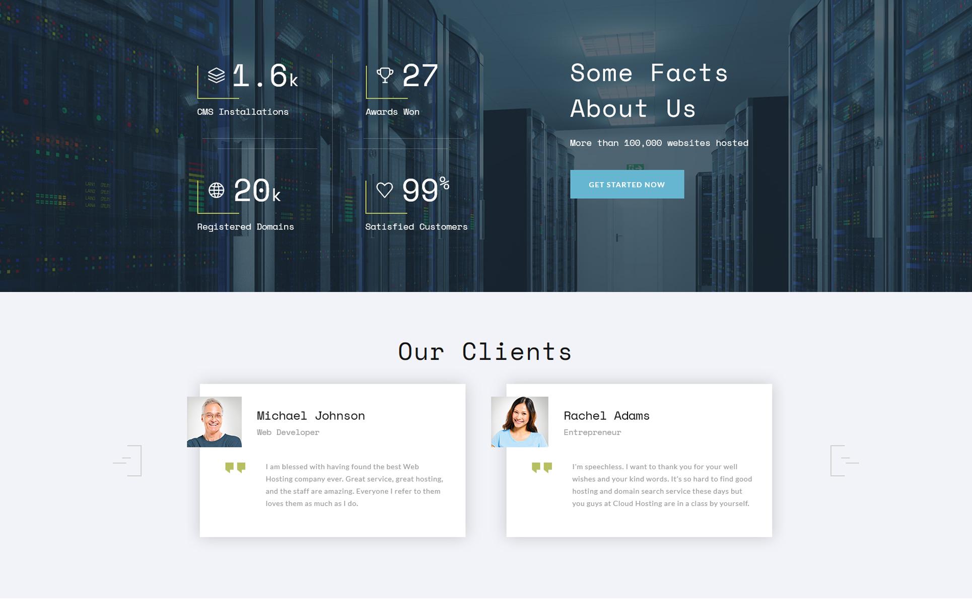 Website Templates Hosting Custom Website Template Hosting Website