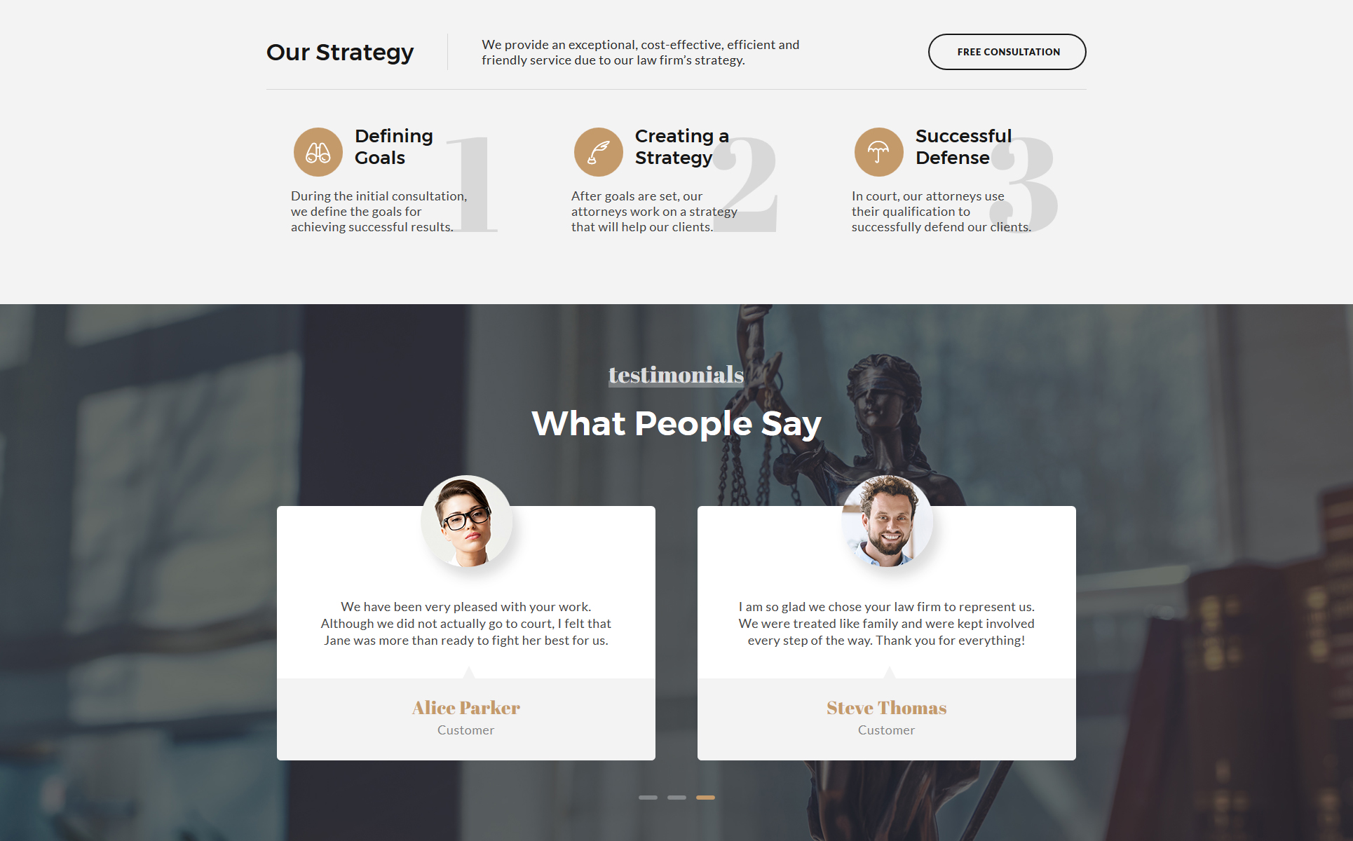 Law Landing Page Template 69706   Templates.com