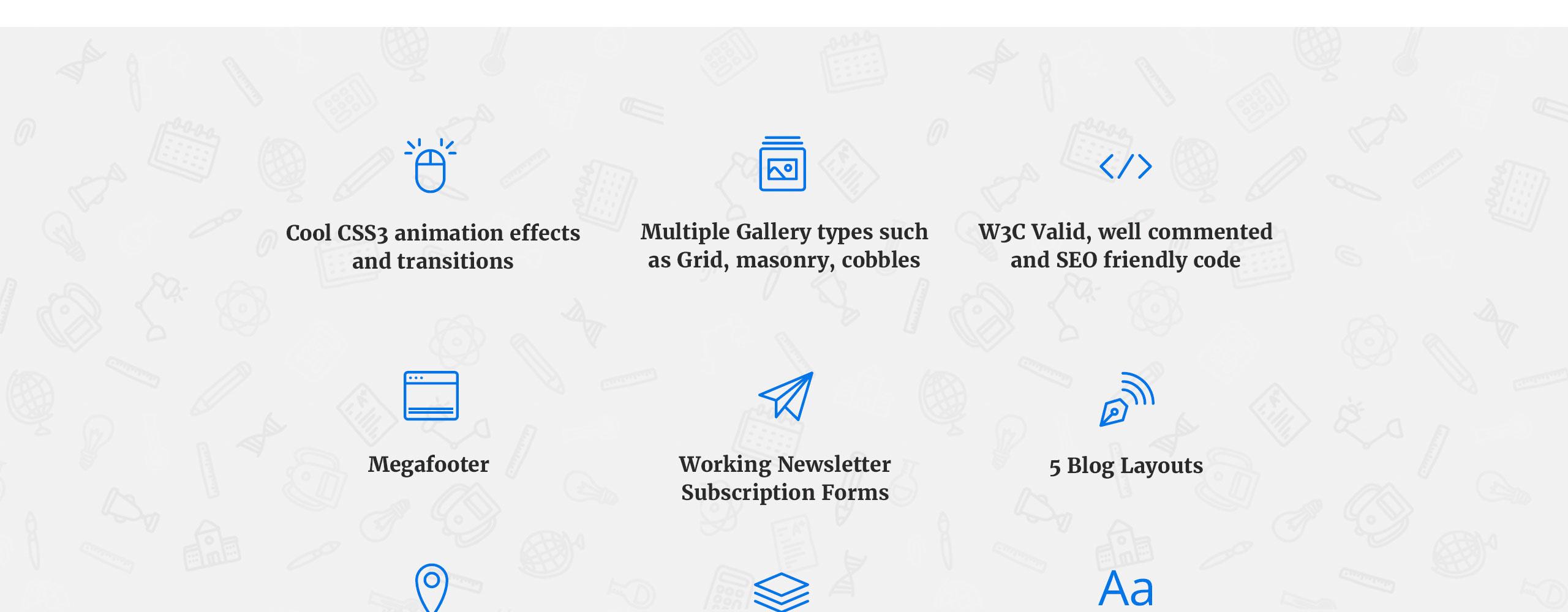 Learner Website Template