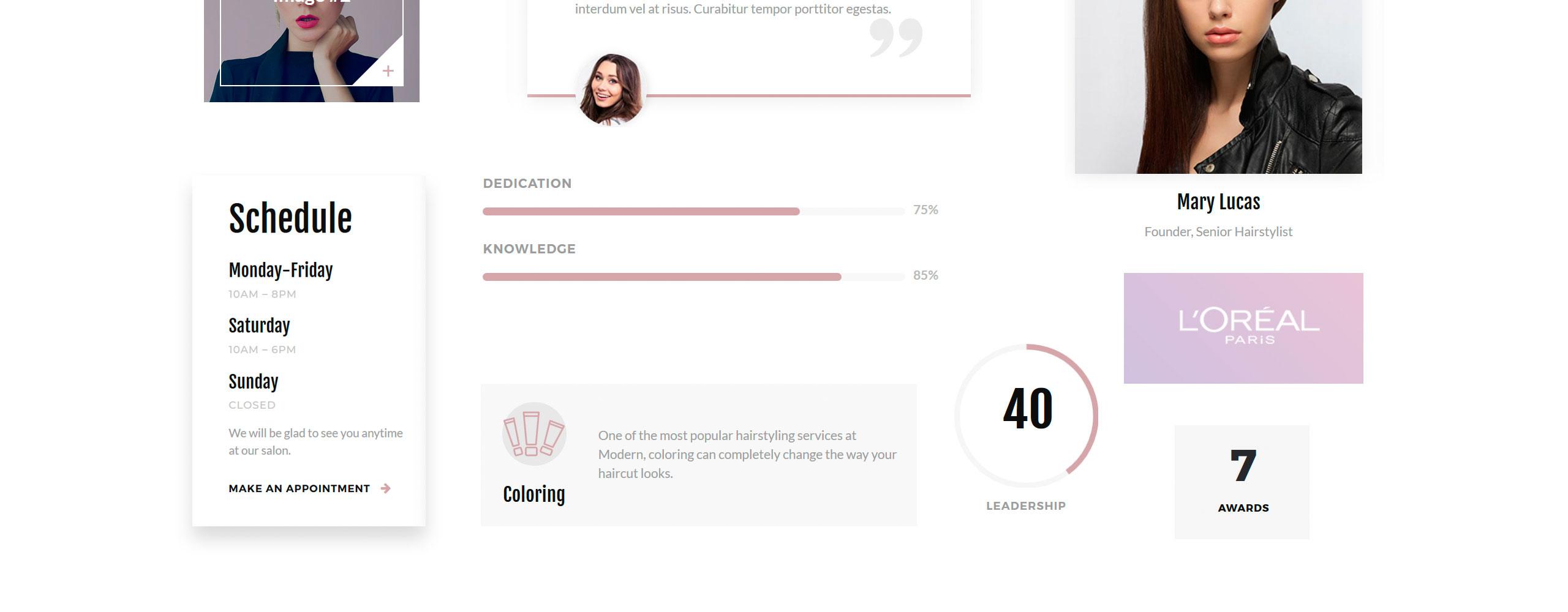 Modern Website Template