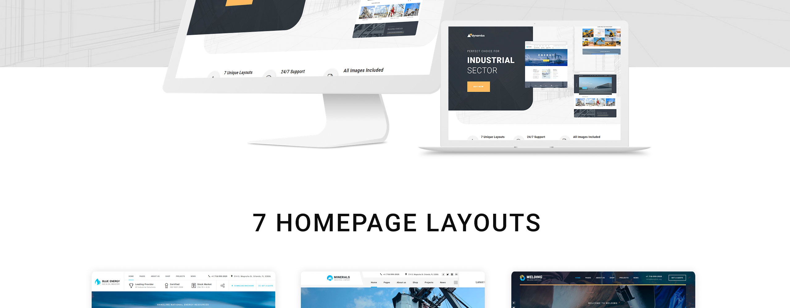 Dynamics Website Template