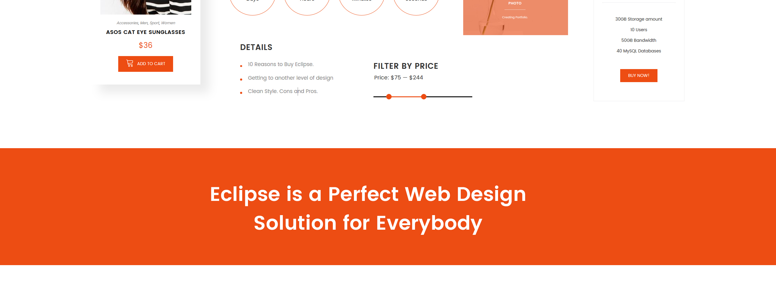 Eclipse Website Template