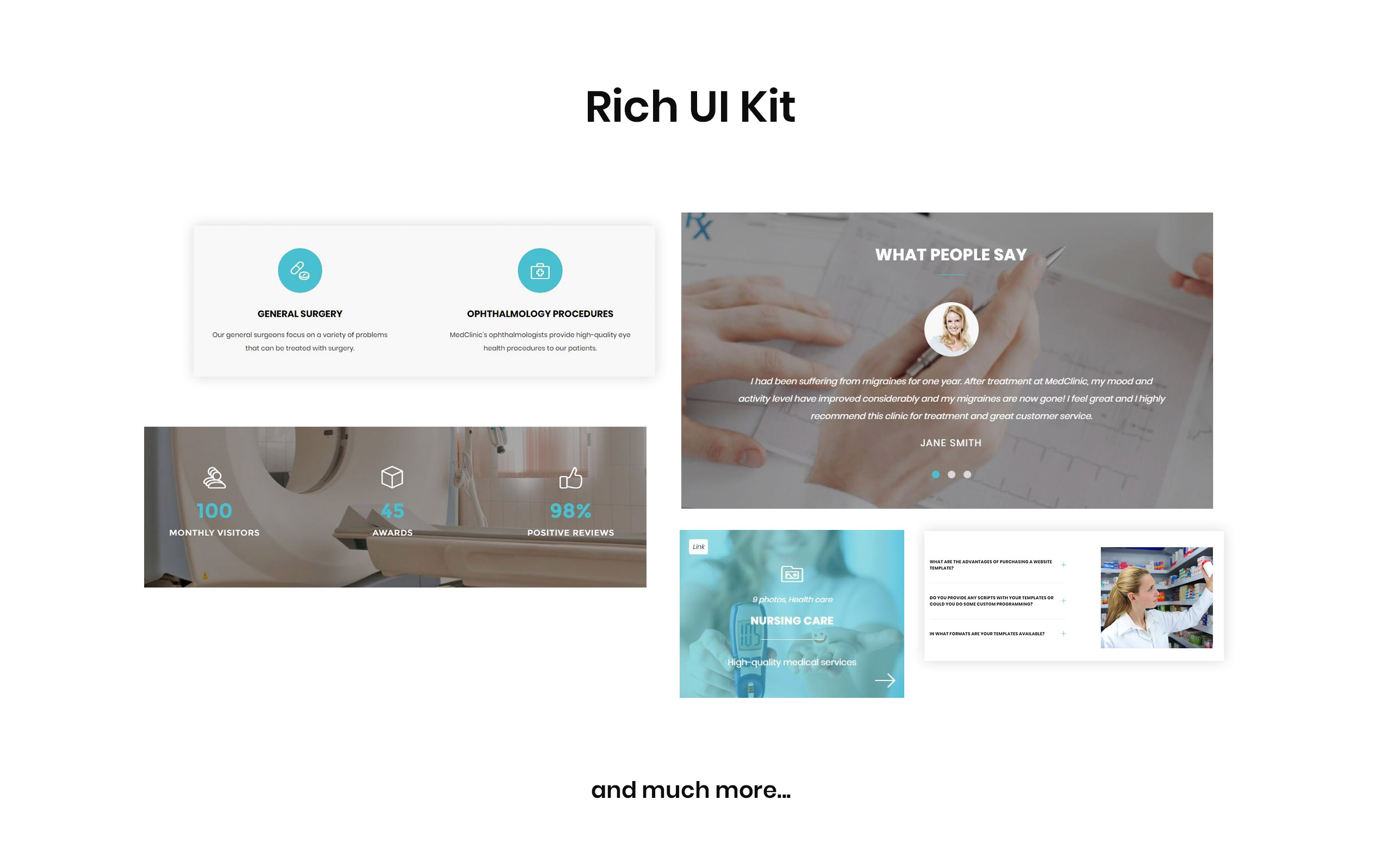 MedClinic - Private Medical Clinic HTML5 Landing Page Template