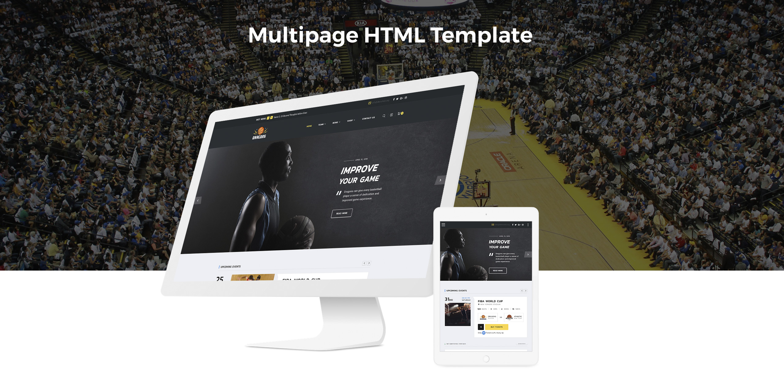 Dragons Website Template