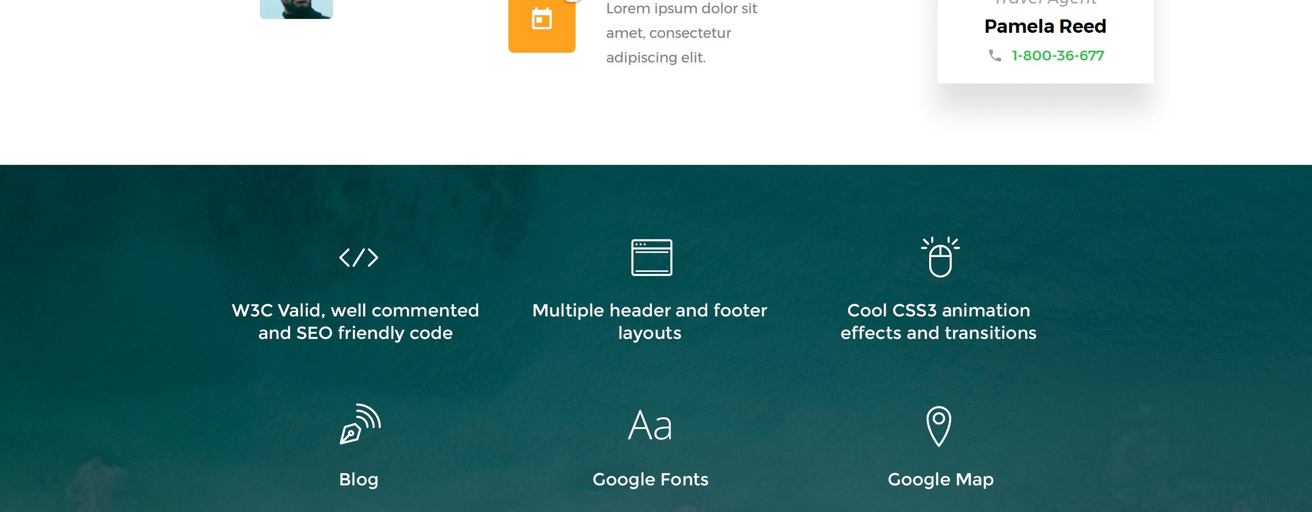 Sunway Website Template