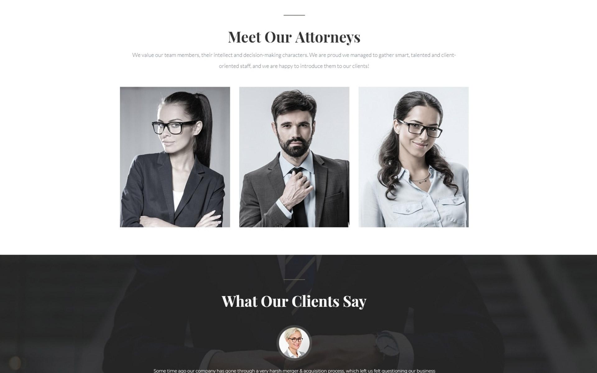 Law Website Template | Website Templates