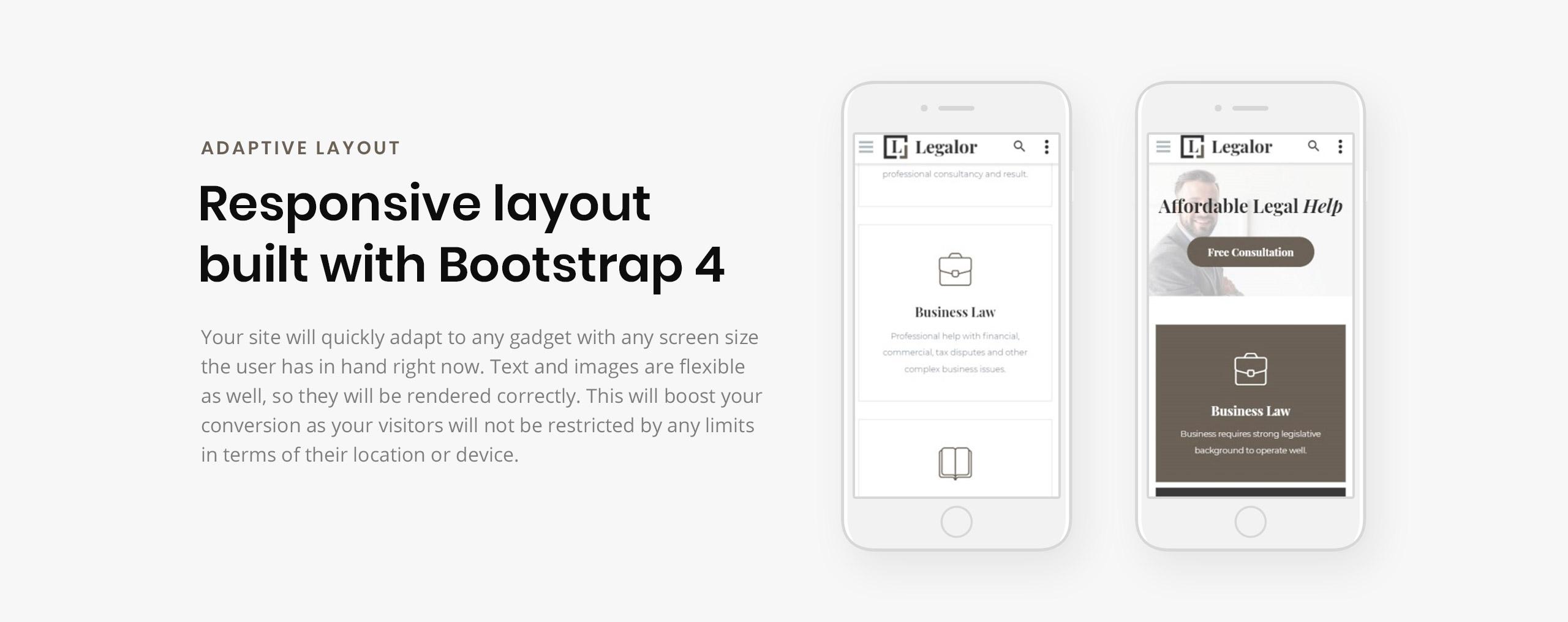 Legalor Website Template