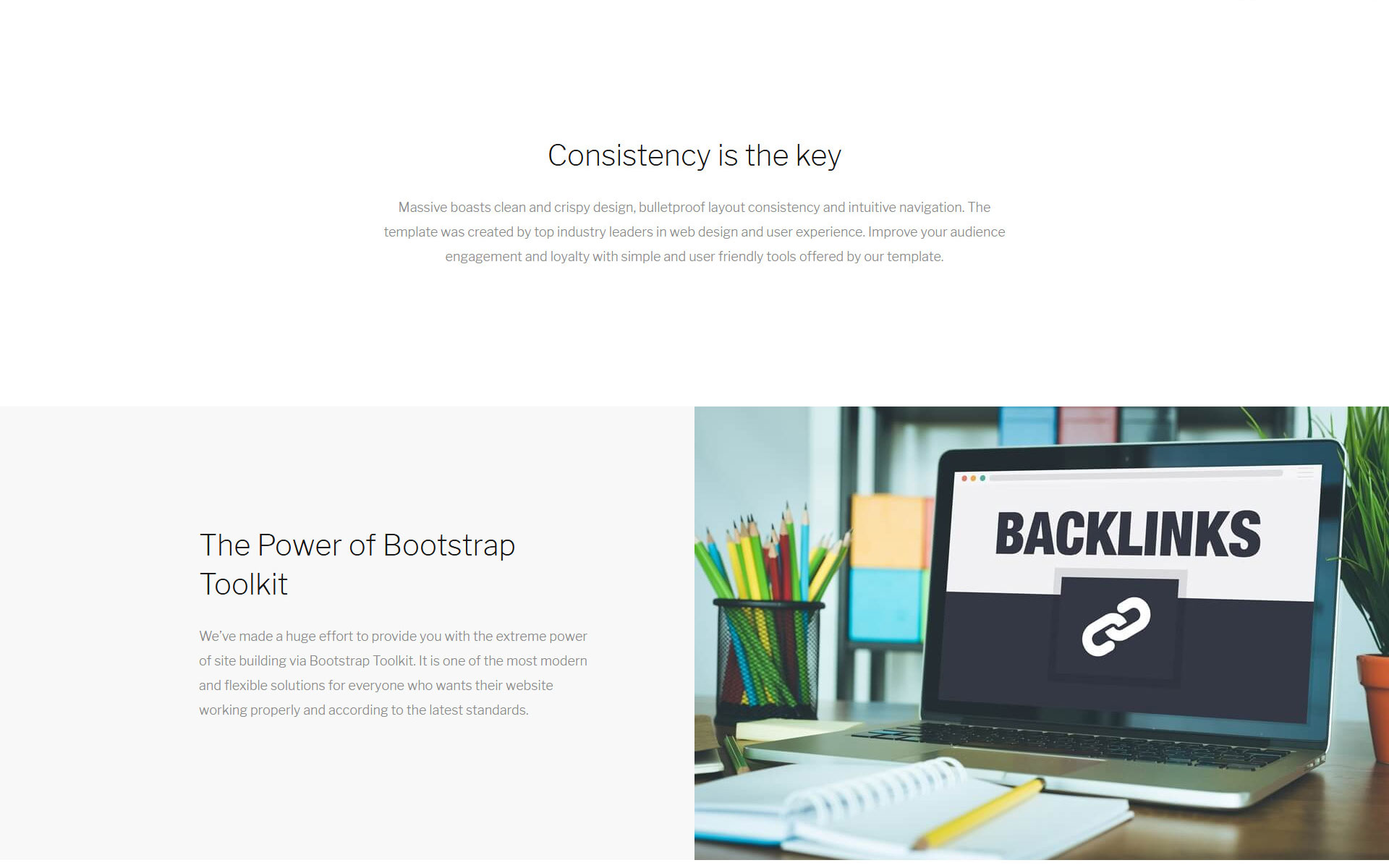 Massive - Business Ready-To-Use Website Template