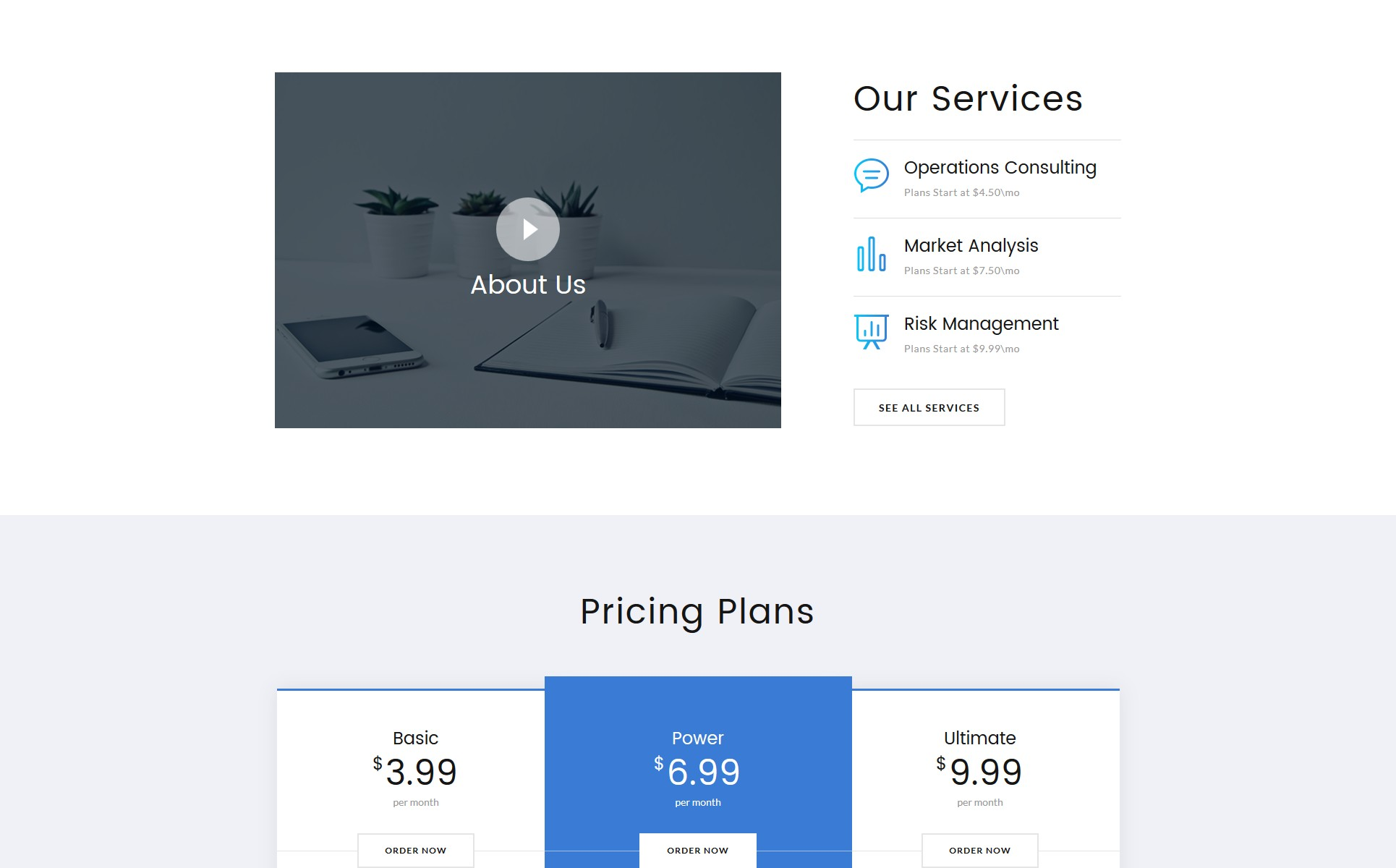 Consult - Corporate Ready-to-Use Website Template