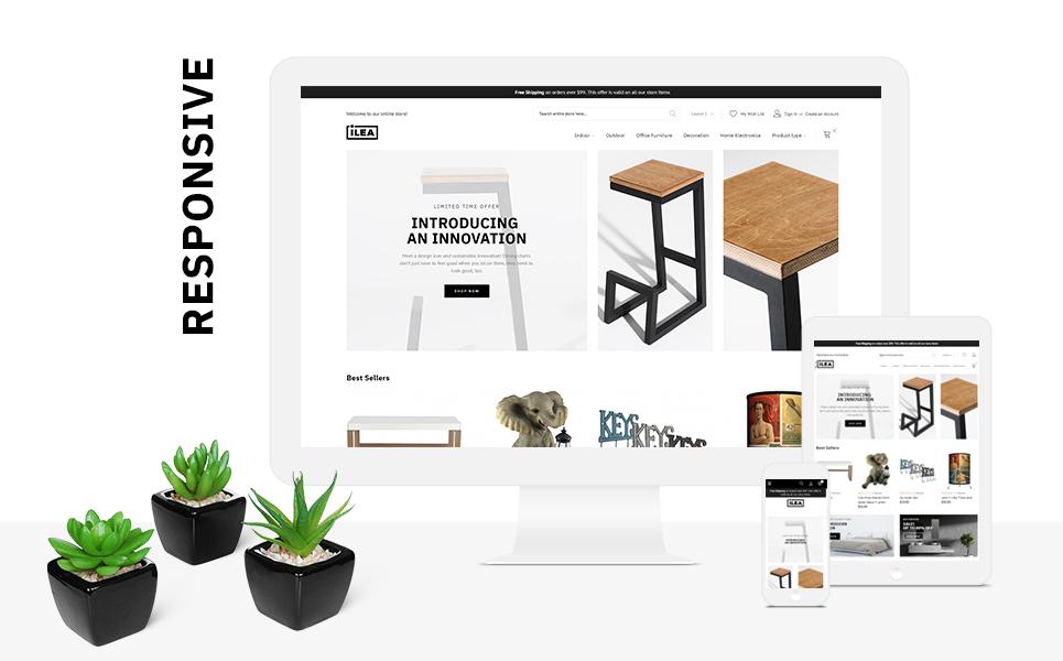 ILEA - Decor & Furniture Magento Theme