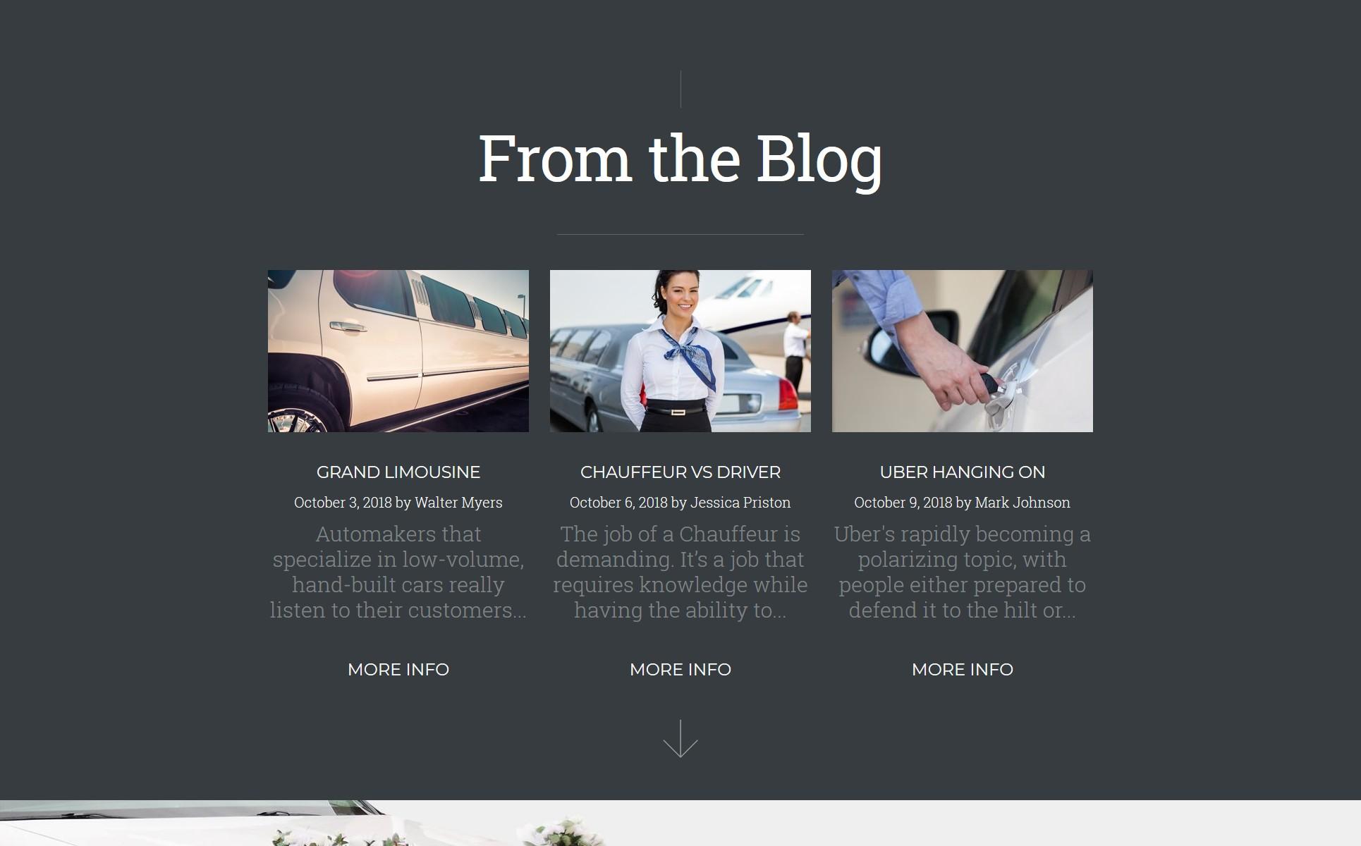 RenCar - Automobile Ready-to-Use Minimal Novi HTML Website Template