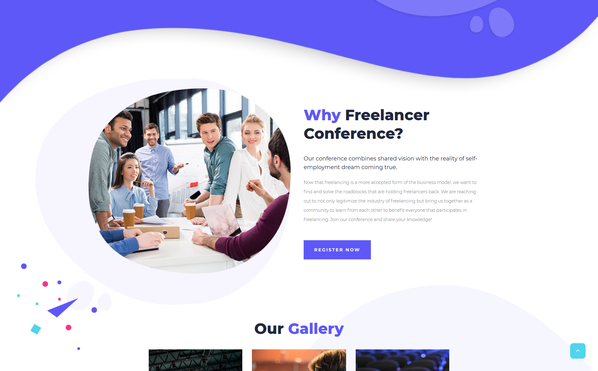 Defiant - Event Responsive Minimal Bootstrap HTML Website Template