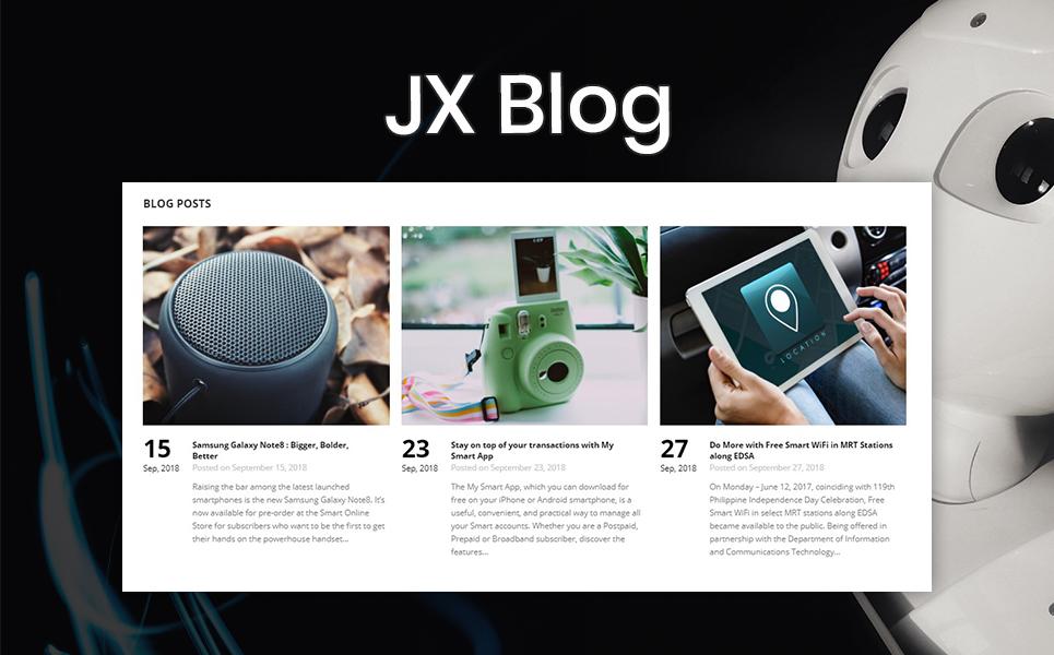 IXI - Smart Gadgets Clean Bootstrap Ecommerce PrestaShop Theme