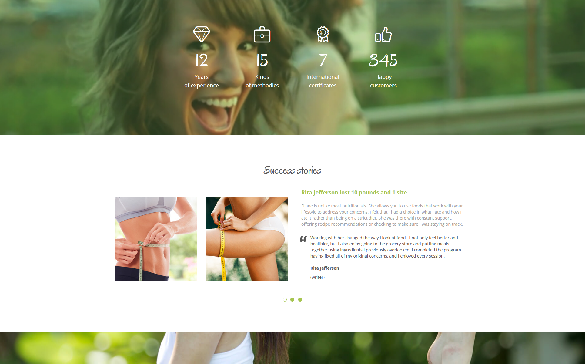 Diane Moore - Doctor Ready-to-Use Clean HTML Website Template