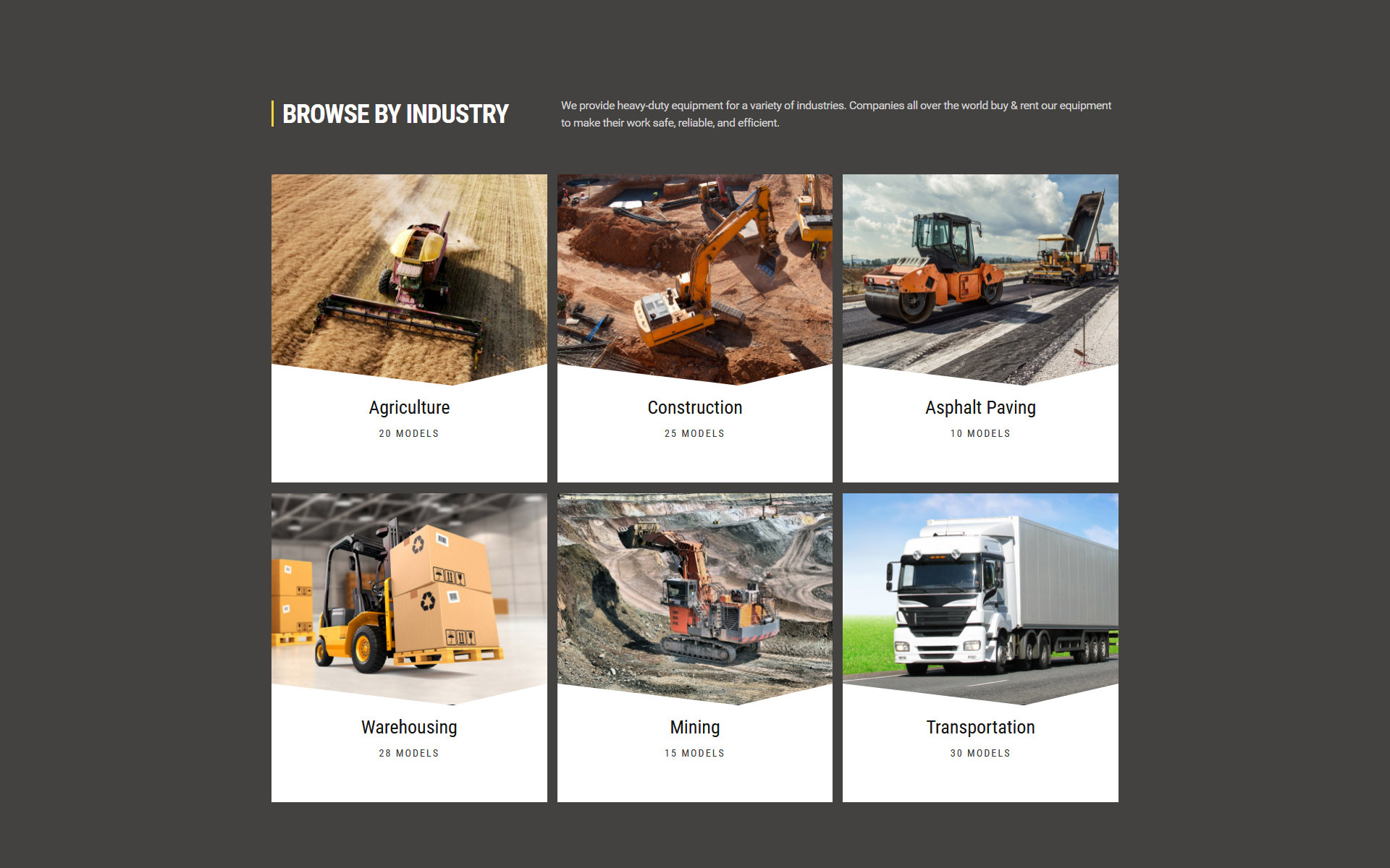 DIGGER - Tools & Equipment Multipage Classic HTML Website Template