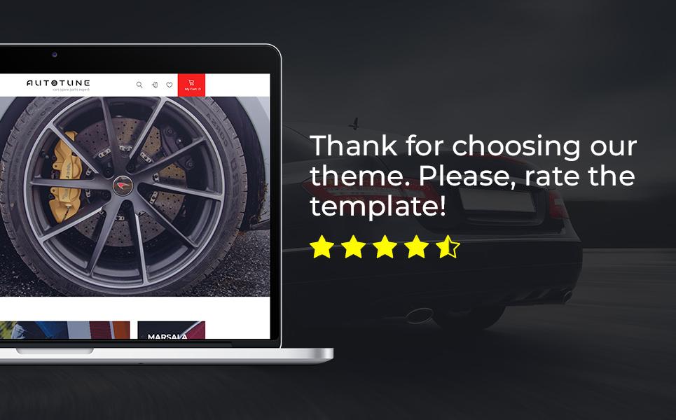 Autotune - Cars Spare Parts Clean Bootstrap Ecommerce PrestaShop Theme