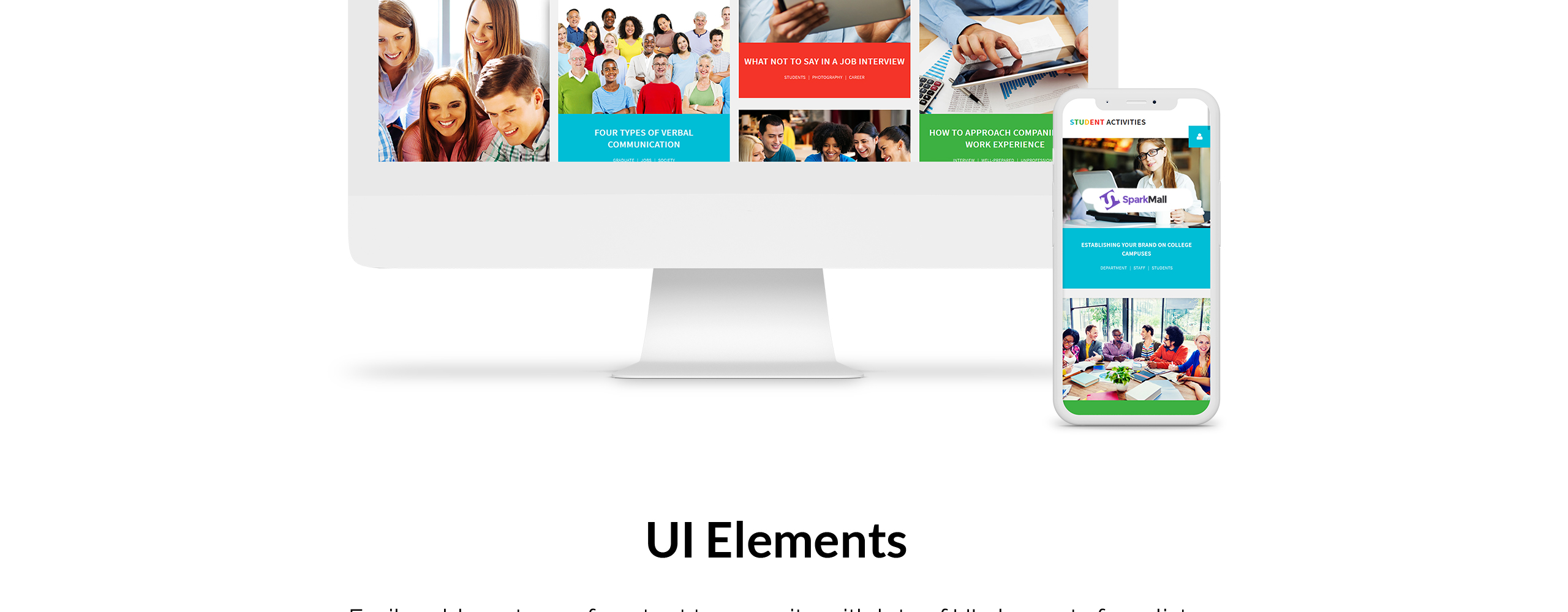 Student activities Joomla Template