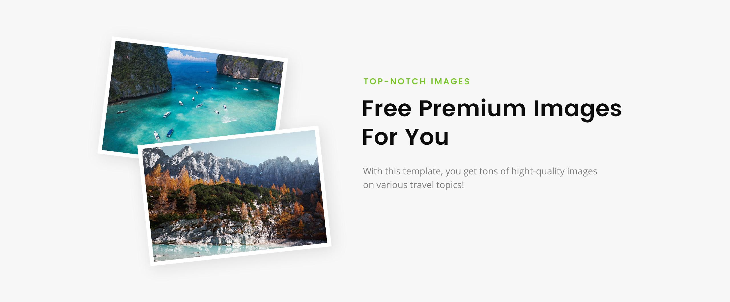 Template 79255 : Liberty Travel - Travel Agency Modern HTML
