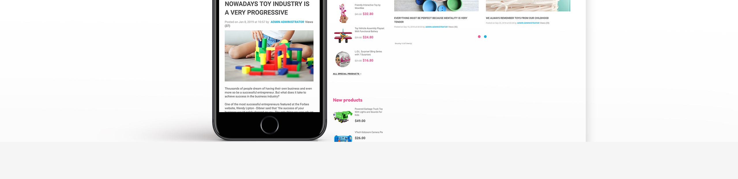 Toyster - Toy Store Clean Bootstrap Ecommerce PrestaShop Theme