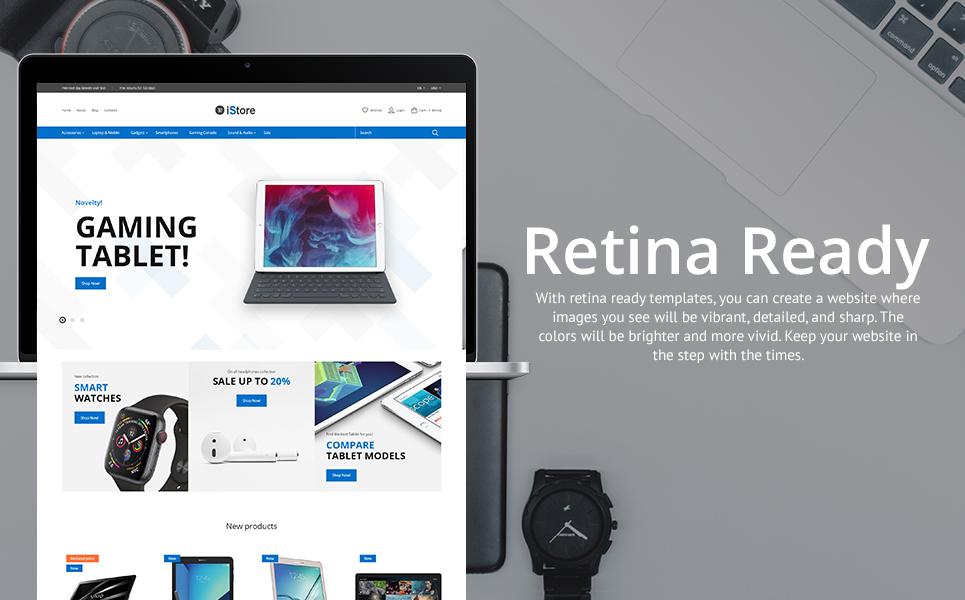 iStore - Electronics Shop Clean Bootstrap Ecommerce PrestaShop Theme