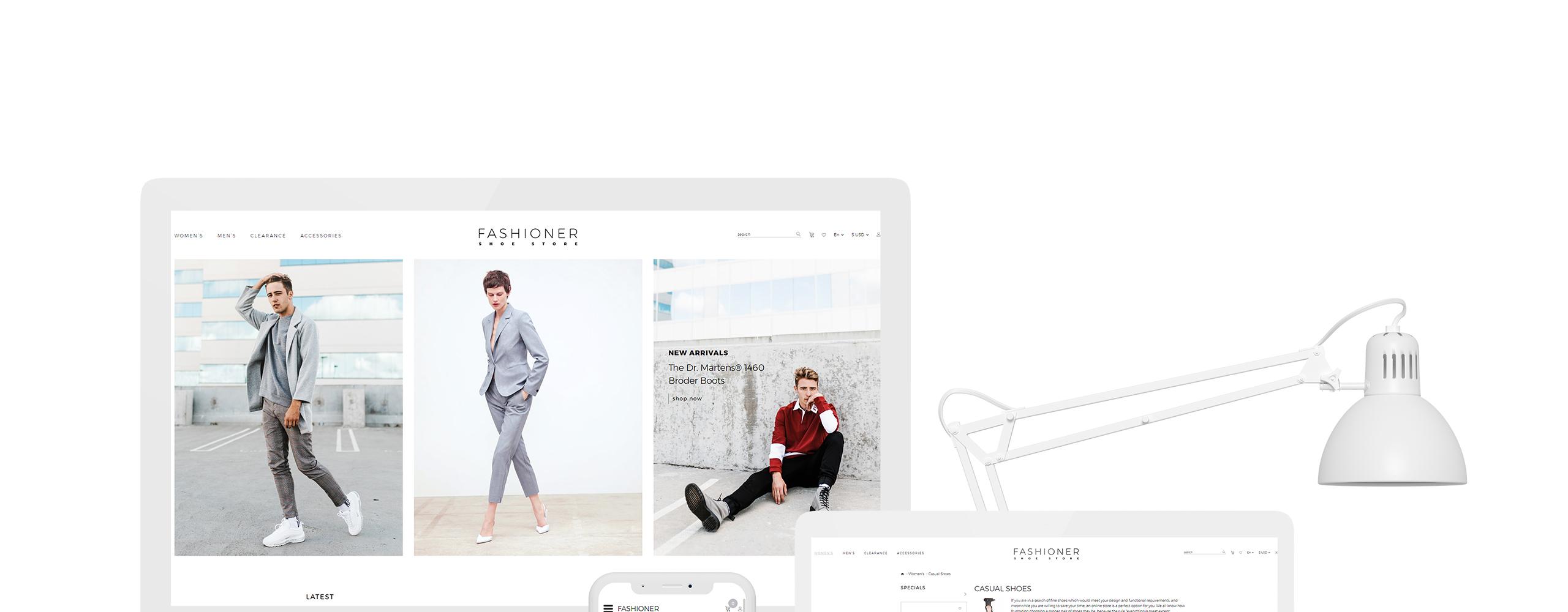 Fashioner OpenCart Theme
