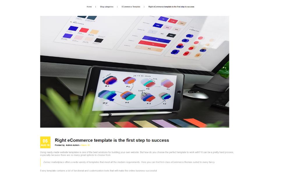 Printile - Print Shop Ecommerce PrestaShop Theme