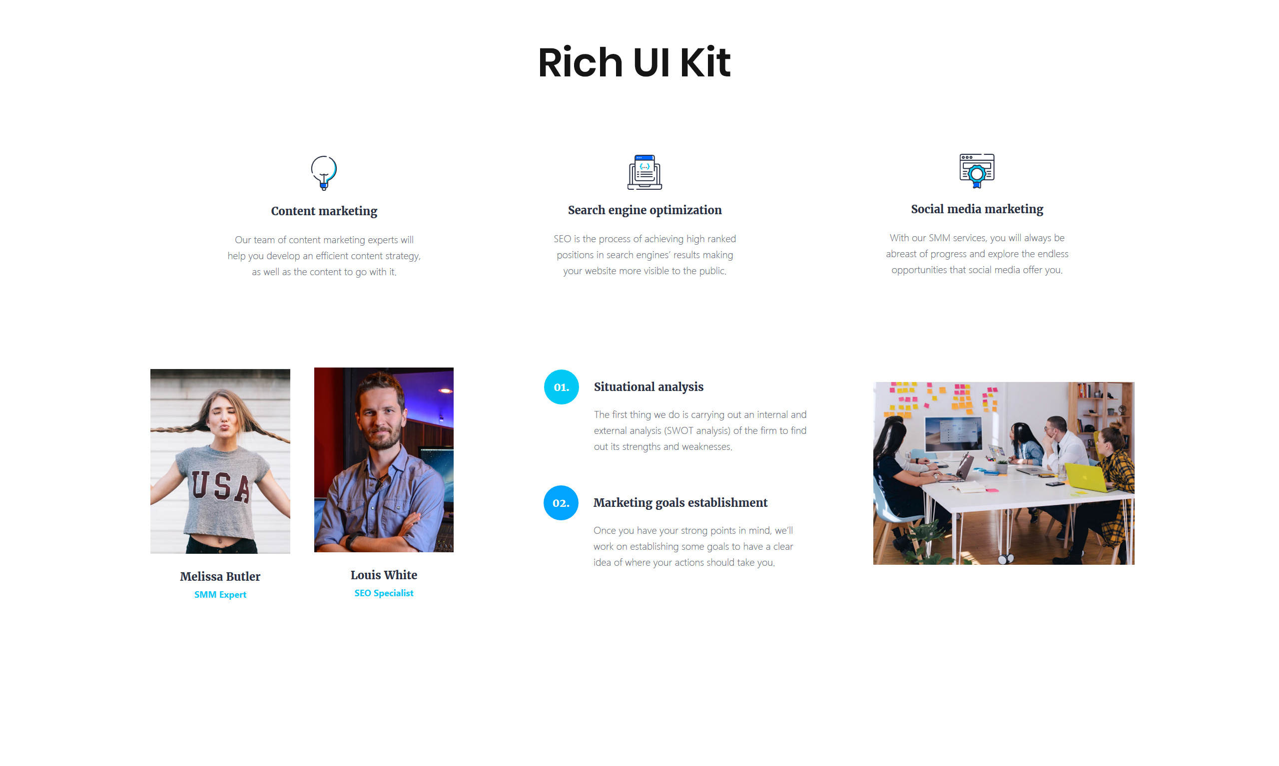 Lintense Digital Agency - Creative HTML Landing Page Template