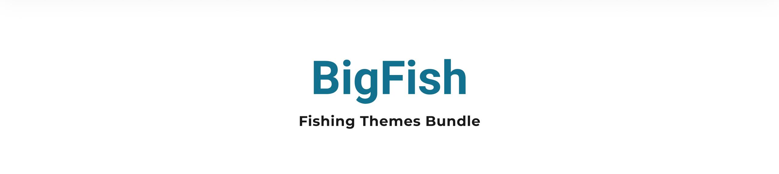 Fishing Themes Bundle Shopify Theme