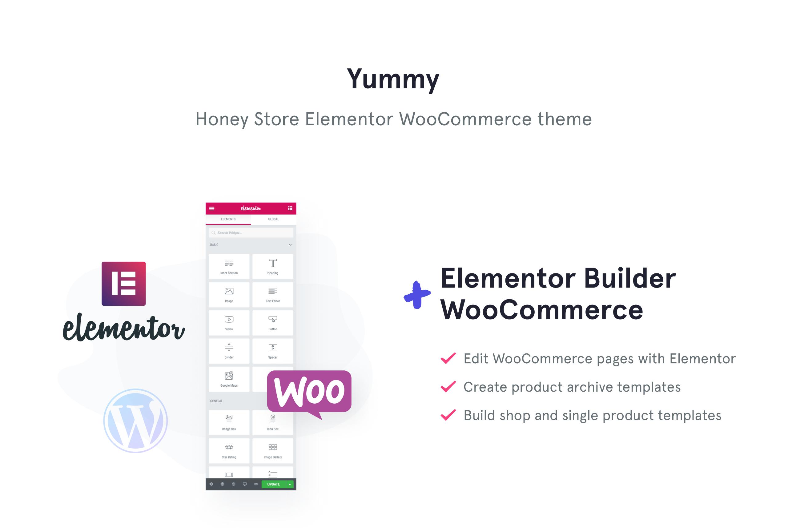 Yummy - Honey Store WooCommerce Theme