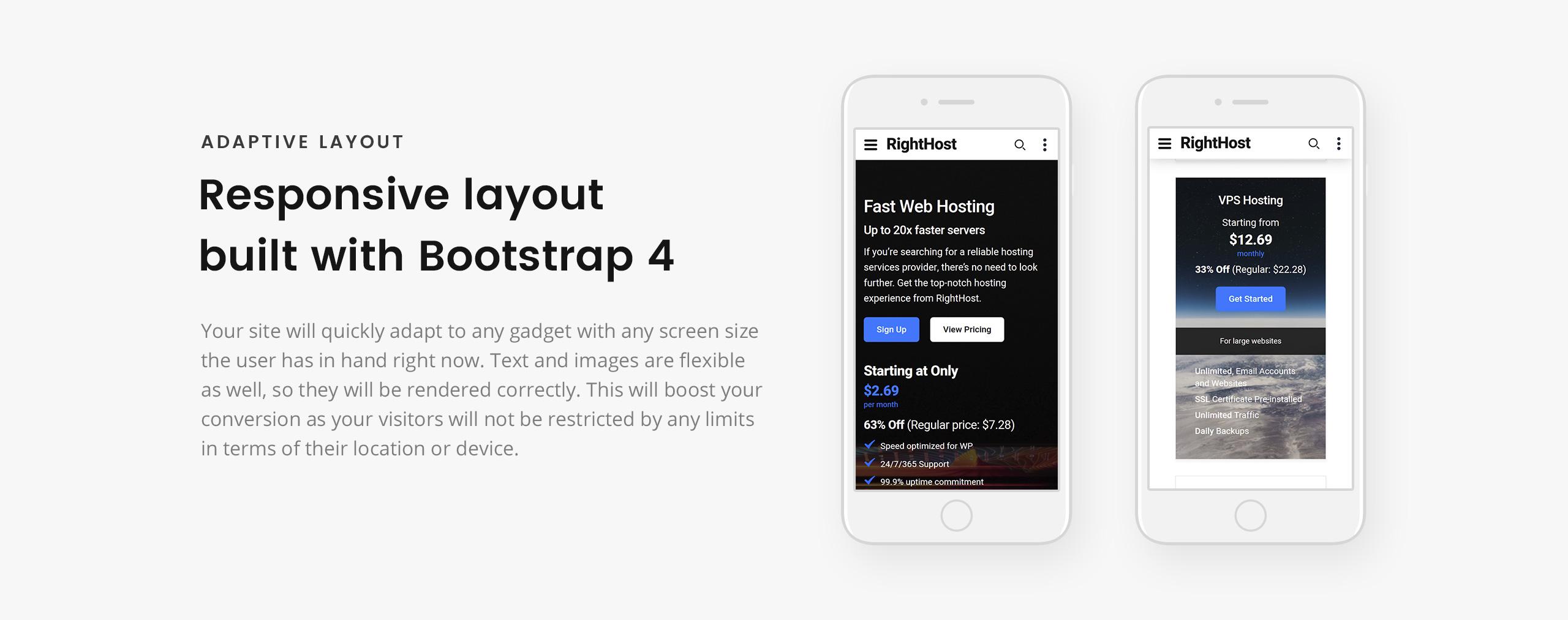 Lintense Hosting - Creative HTML Landing Page Template