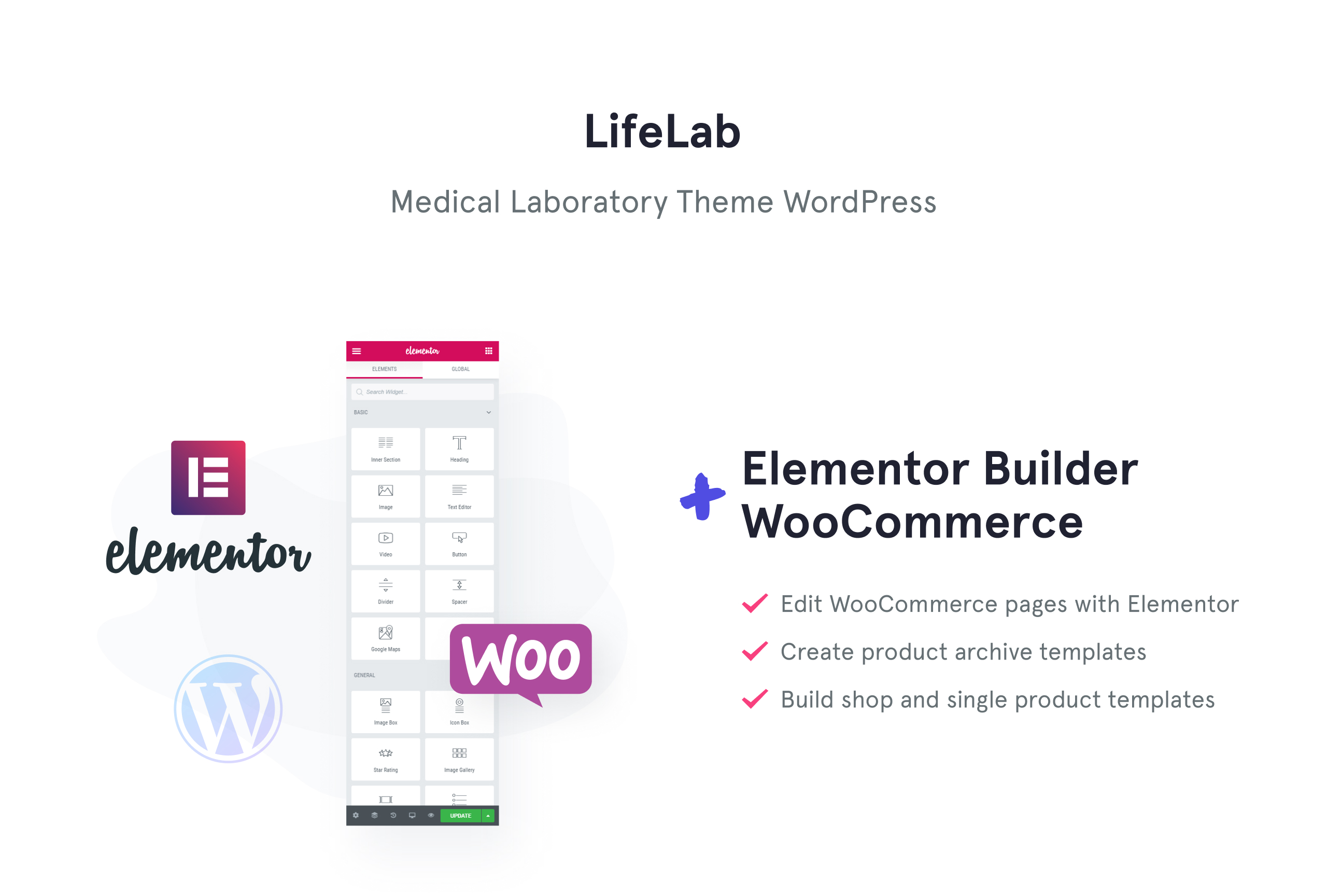LifeLab - Medical Laboratory WordPress Theme