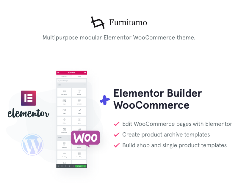 Furnitamo - WordPress Theme For Fabric Store WooCommerce Theme