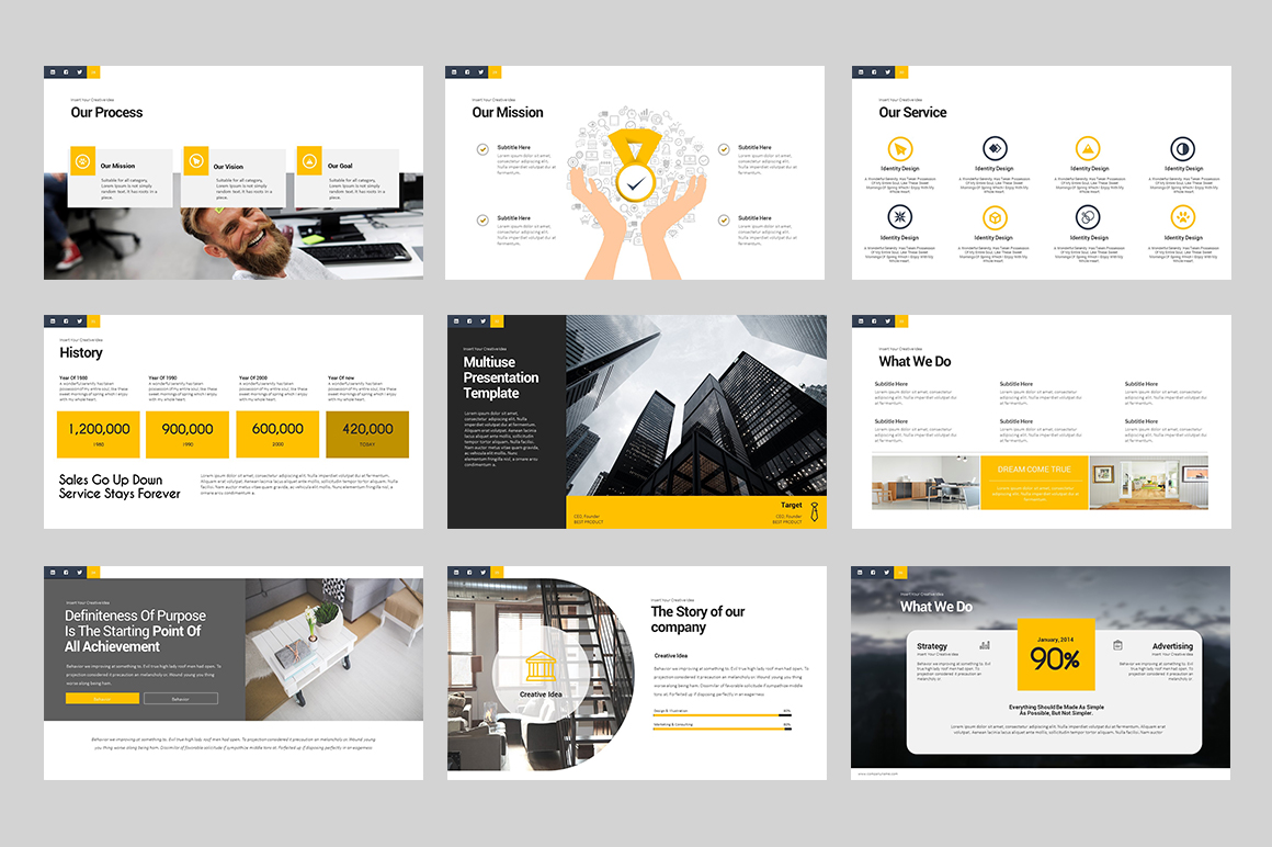 Business Talk Keynote Template