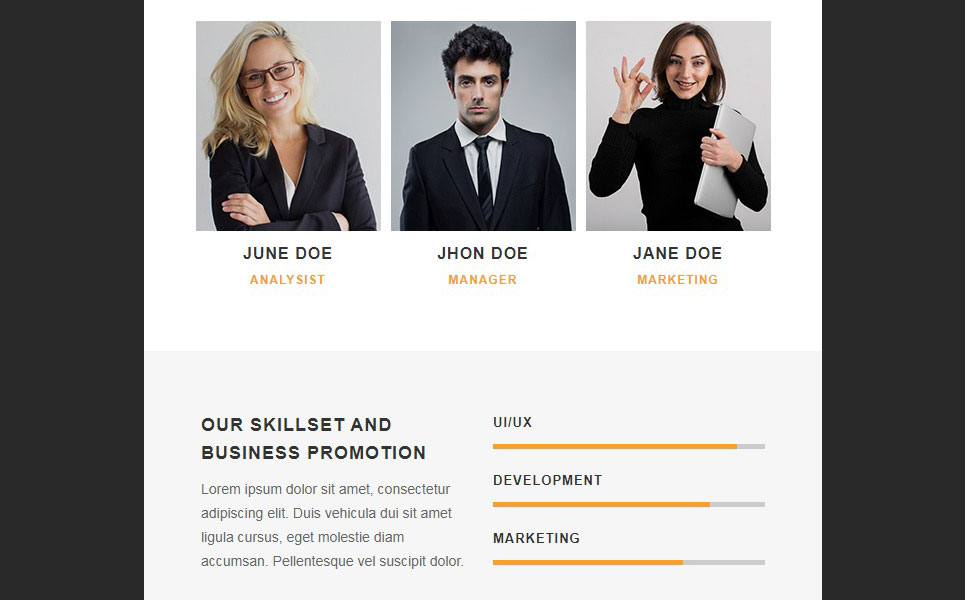 TITAN - Corporate Responsive Email Newsletter Template