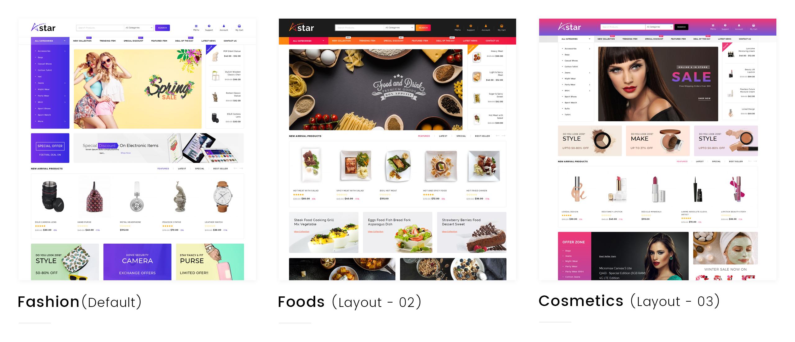 A-Star - Multi Purpose Store WooCommerce Theme