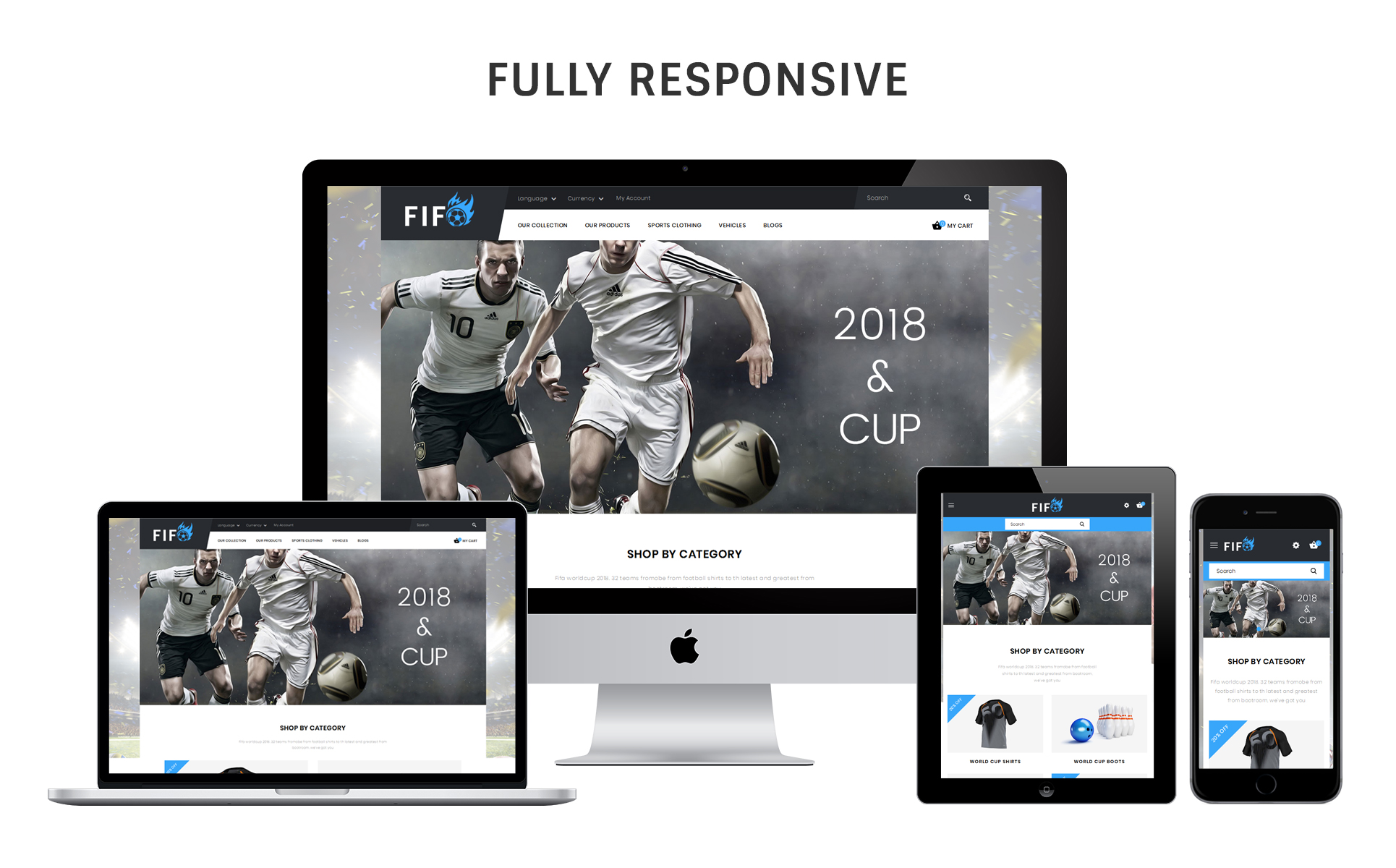 Fifo Sport Store - Responsive OpenCart Template