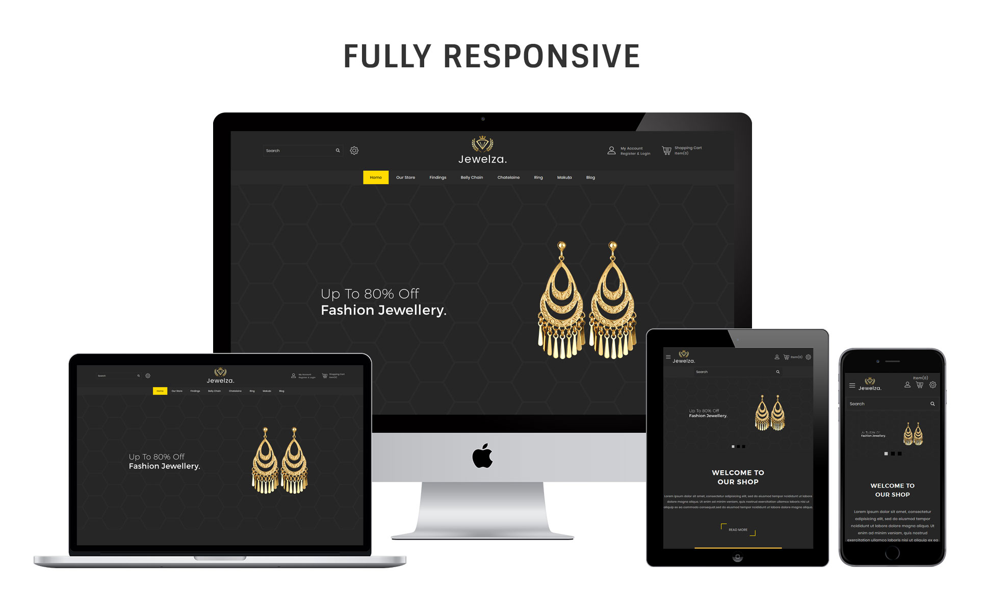 Jewelza - The Jewelry Store OpenCart Template