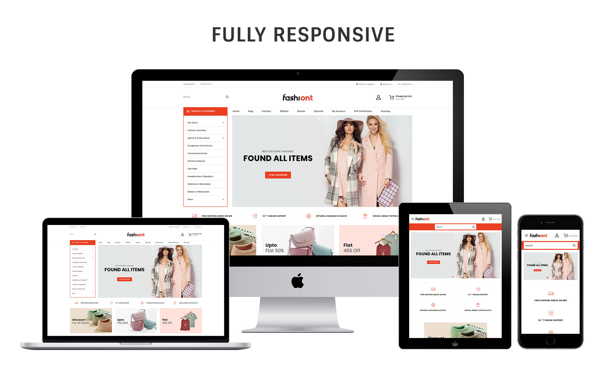 Fashiont - The Responsive Fashion Store OpenCart Template