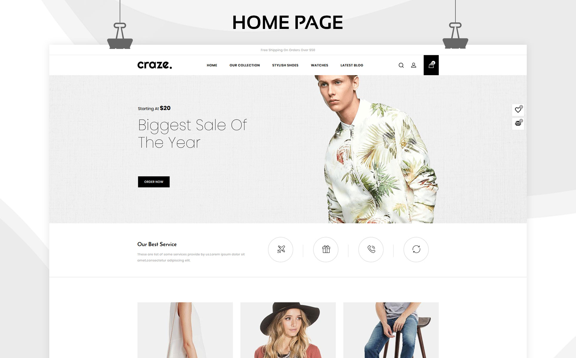 Craze Shopify Theme