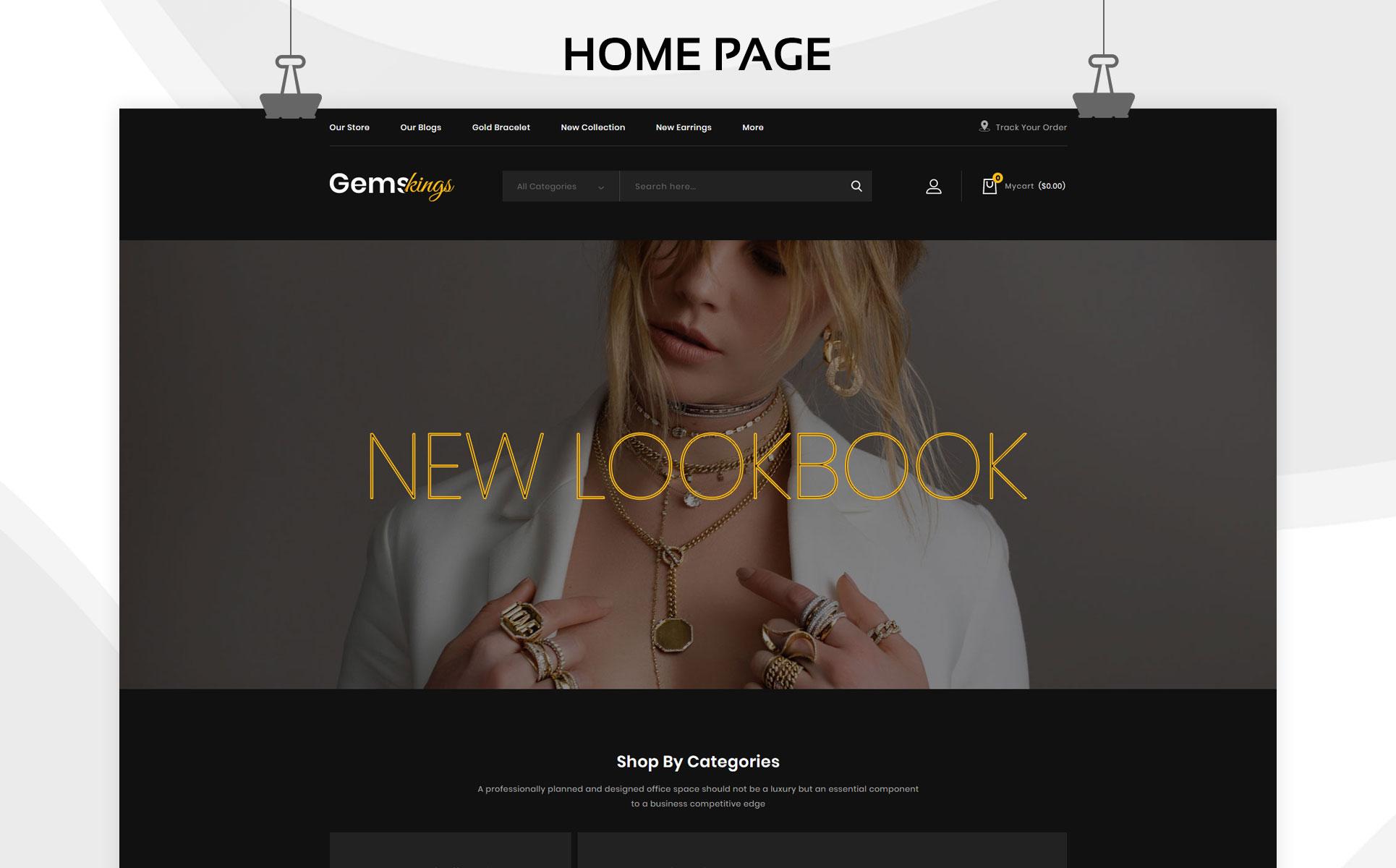 Gemskings - The Jewelry Store PrestaShop Theme