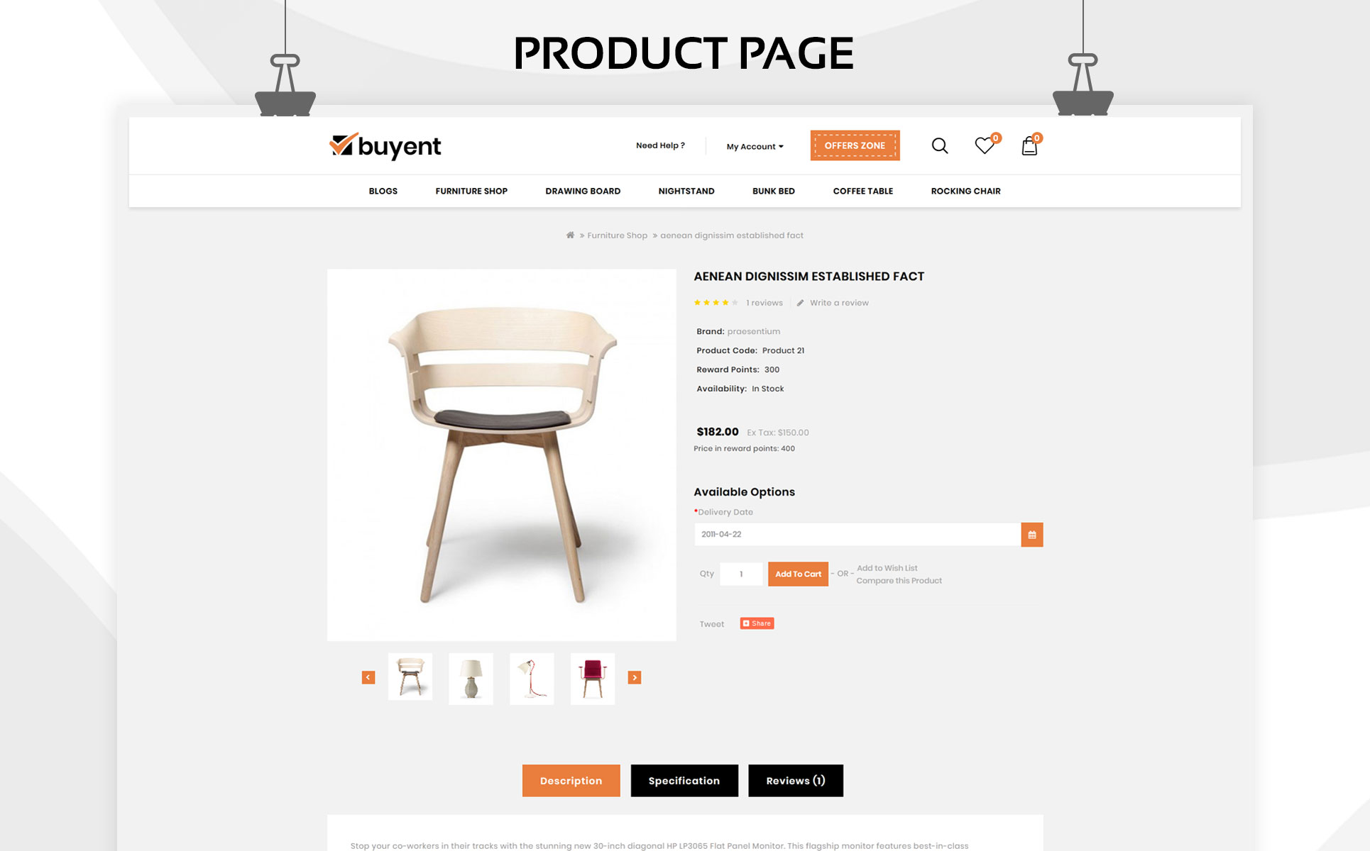 Buyent - The Multipurpose OpenCart Template