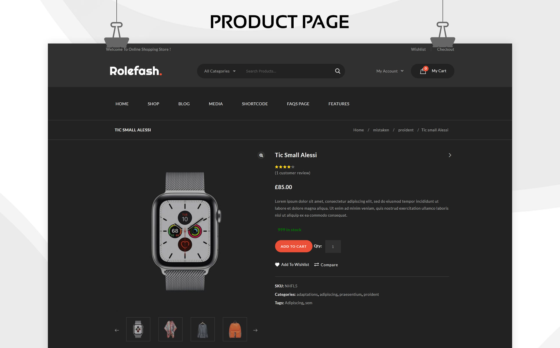 Rolefash - The Ultimate Fashion Store WooCommerce Theme
