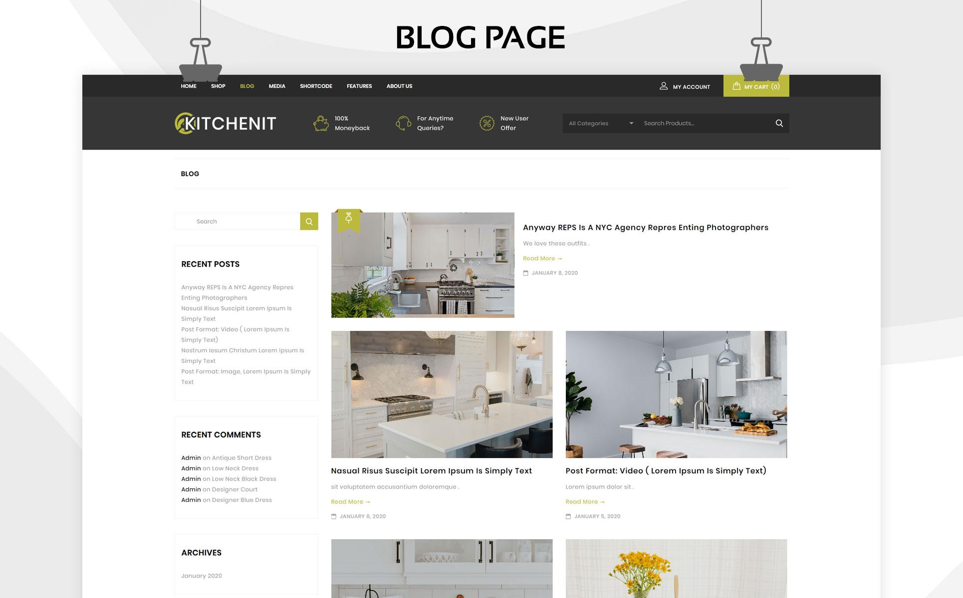 Kitchenit -  The Mega Kitchen Store Premium WooCommerce Theme