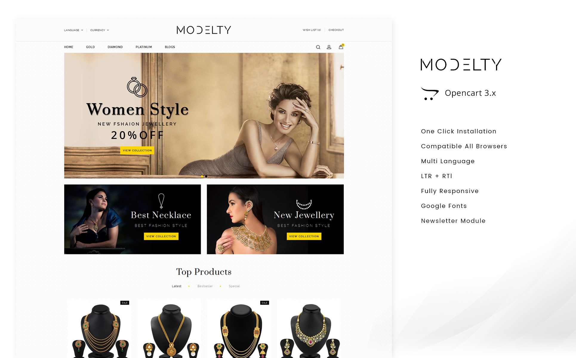 74d039c3dec8 Website Templates Glittering Jewelry Custom Website Template Glittering  Jewelry Website Design Templates