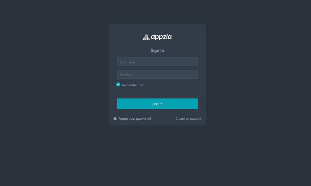 Appzia - Dark Admin Template