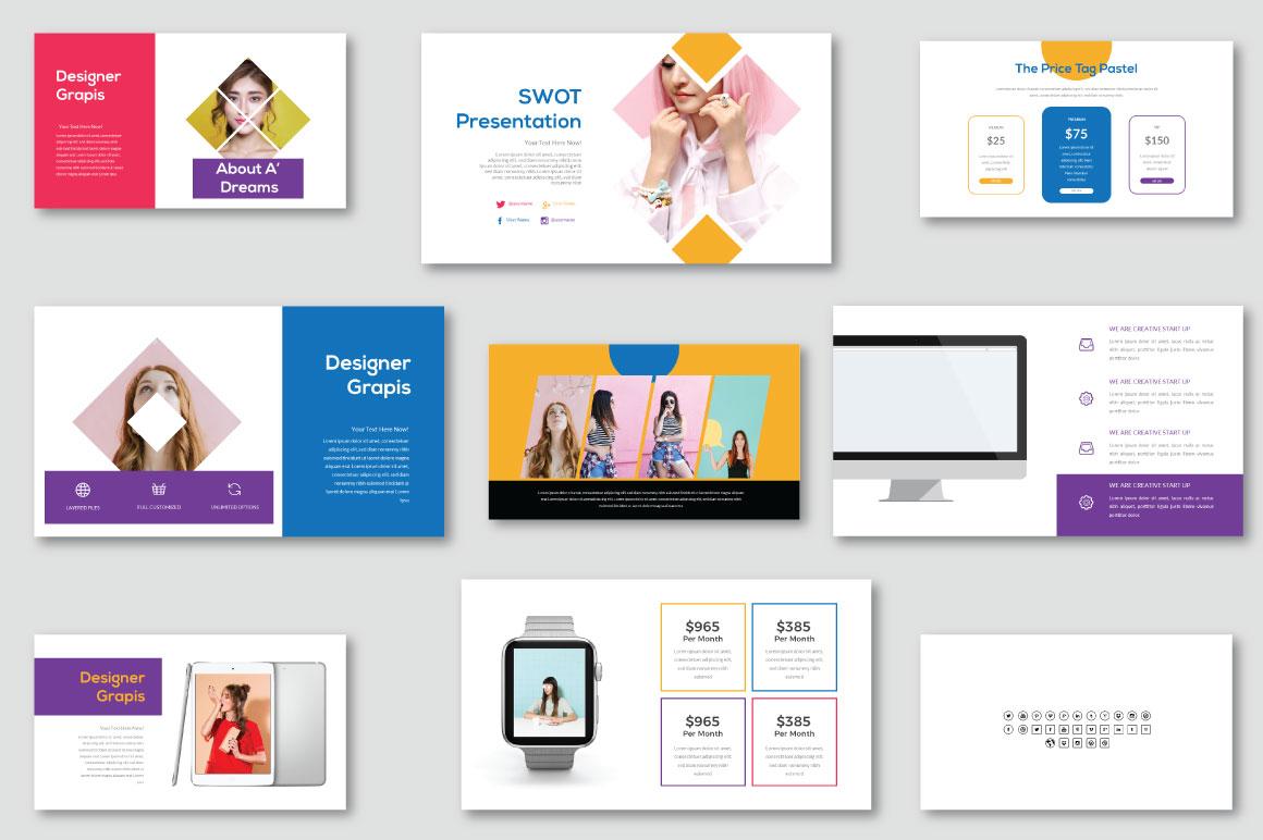 Pastel - Modern PowerPoint Template