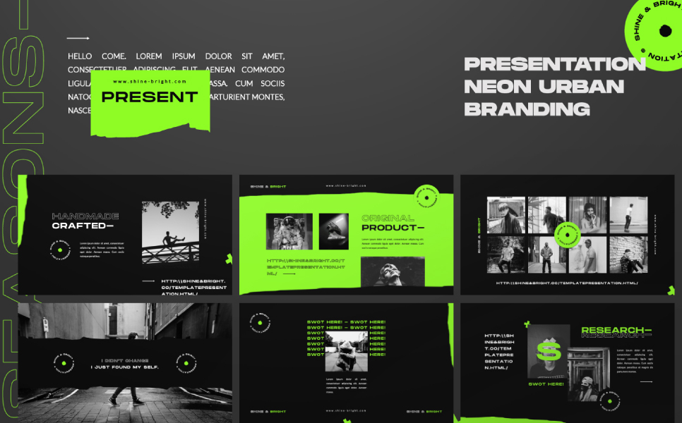 SHINE_BRIGHT PowerPoint Template