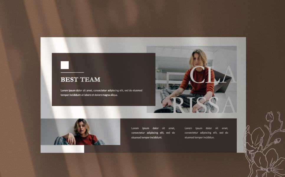 Montana Presentation PowerPoint Template