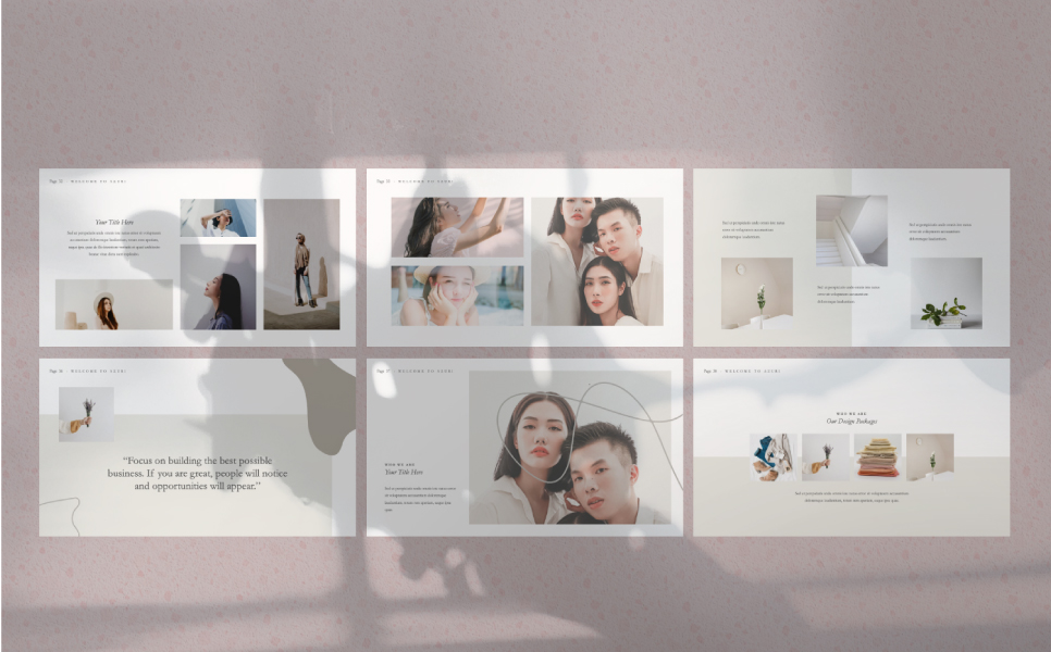 Azuri Presentation PowerPoint Template