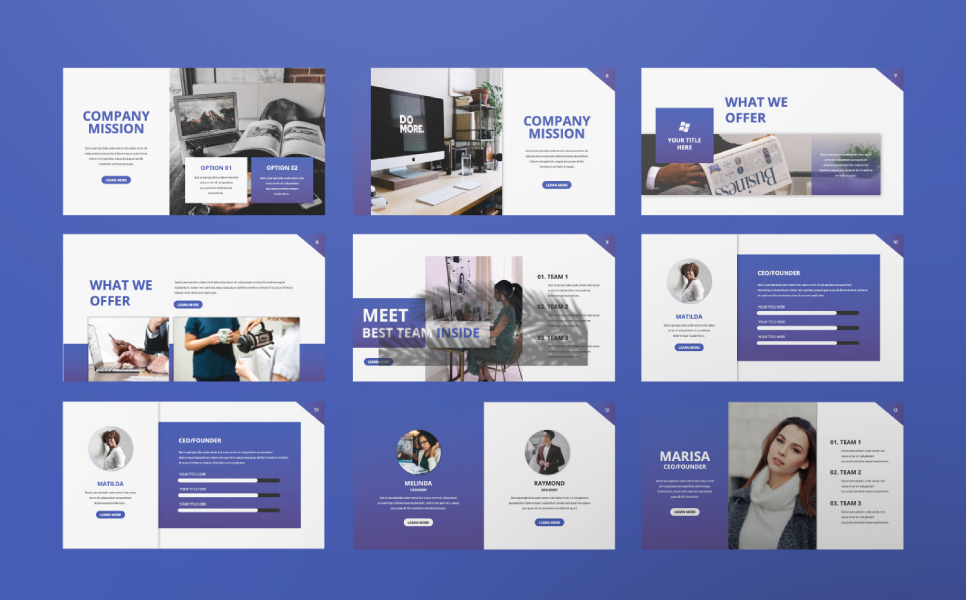 Inside Presentation PowerPoint Template